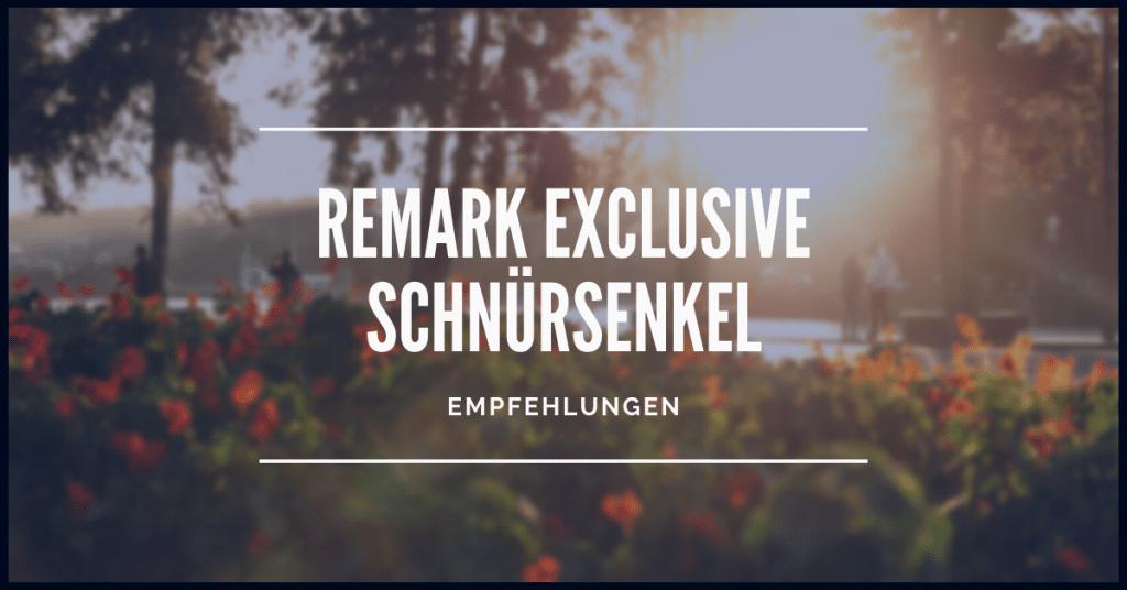 Remark Exclusive Schnürsenkel