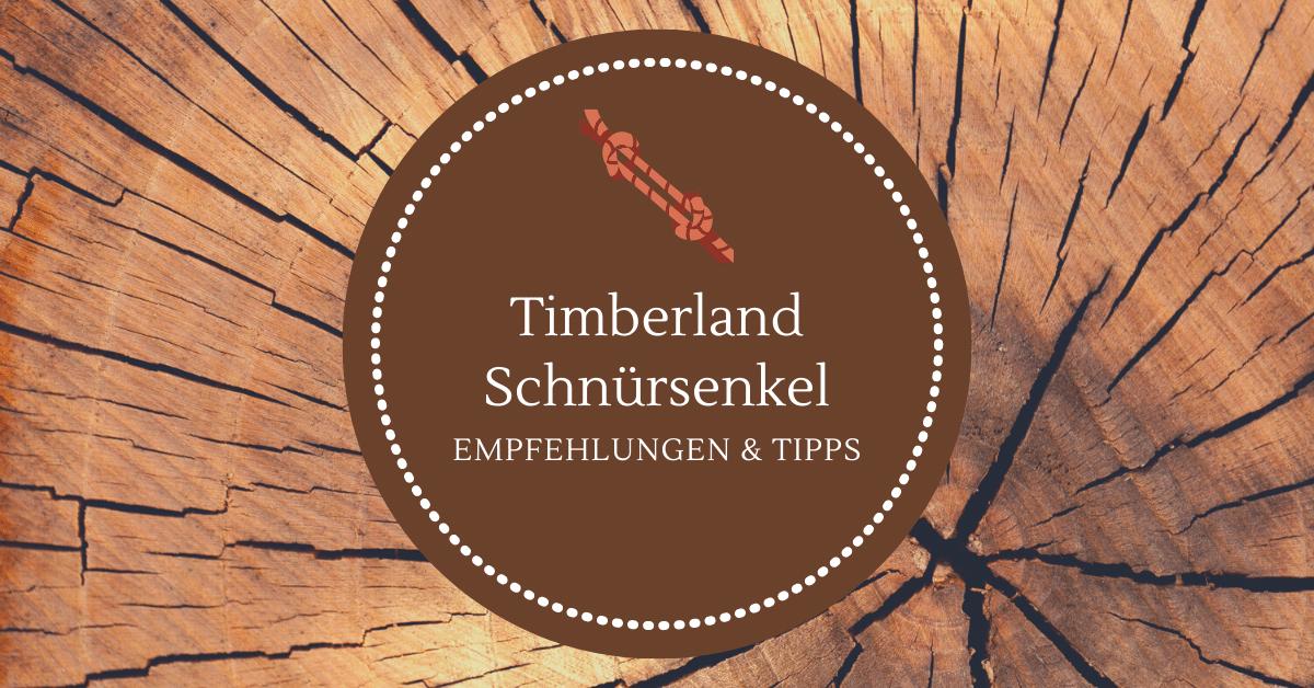 Timberland Schnürsenkel